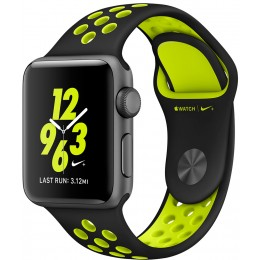 Apple Watch Nike+ 38mm Space Gray with Black/Volt Nike Band (MP082)